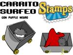 Logo de carrito surfeo stamps